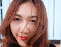 Close up face asian beauty Stock Image