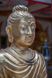 Close up face of  Buddha. Royalty Free Stock Photography