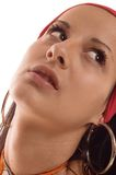 Close up face woman Royalty Free Stock Image