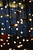 Close up fairy tale light decoration royalty free stock photo