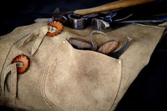 Close up of Farrier Tools Royalty Free Stock Photo