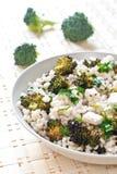 Close up of farro salad Royalty Free Stock Photos