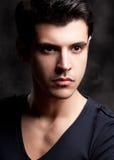 Close Up Fashion Shot Of A Young Man Royalty Free Stock Photos