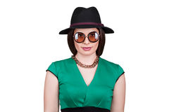 Close-up of fashionable young woman Stock Photos