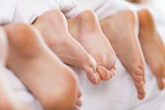 Close up of feet Royalty Free Stock Photos