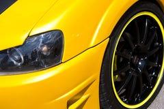 Close up feito sob encomenda do carro Imagem de Stock Royalty Free