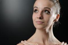 Close Up Of A Female Ballet Dancer Stock Image