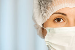 Close-up Of A Female Doctor Stock Photography