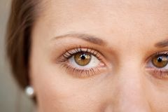 Close up female eye Royalty Free Stock Photography