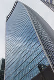Close up of Fenchurch building Royalty Free Stock Photography
