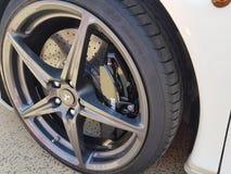 Ferrari wheel Royalty Free Stock Photos