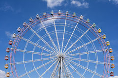 Close up ferris wheel Stock Images