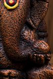 Close-up of a figurine of Lord Ganesha stock images