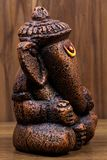 Close-up of a figurine of Lord Ganesha royalty free stock image