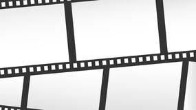 Close-up film or camera strips. Close-up film or camera strips with copy space Stock Image