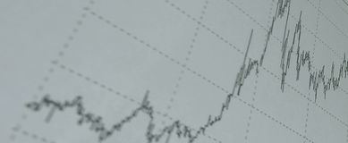 Close up.financial chart in the background.business background Royalty Free Stock Photo
