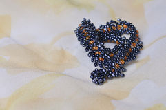 Close-up of fine beaded jewels Royalty Free Stock Photography