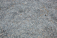 Close-up of fine gravel pile Stock Image