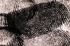 Close up of Fingerprints Stock Photos