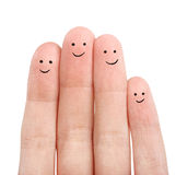 Close up fingers Royalty Free Stock Images