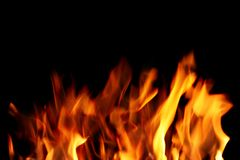 Close up of fire Stock Photo