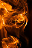 Close-up of fire and flames Stock Image