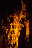 Close up of fire flames Stock Image