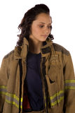 Close up fire serious Stock Images