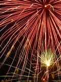 Close-up of fireworks. Fireworks exploding during celebration Royalty Free Stock Photos