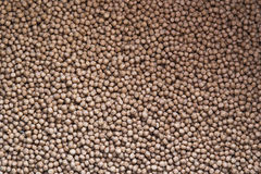 Close-up of fish feed Royalty Free Stock Photography
