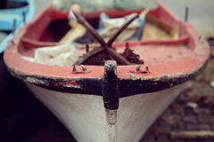 Close-up fishing boat Royalty Free Stock Photos