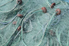 Close up of fishing nets Royalty Free Stock Image