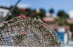 Close up of fishing traps Stock Photos
