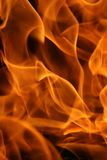 Close-up flame. This picture can be used as a background Royalty Free Stock Image