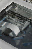 Close-up of flatbed scanner Stock Photography