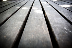 Close up of floor made of wooden Stock Photo