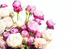Close-up floral composition with Peony- roses Royalty Free Stock Photos