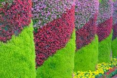 Flower pillars
