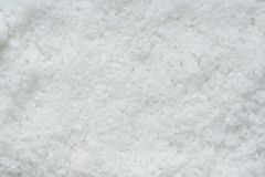 Close up flower of sea salt crystals Stock Image