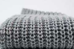 Close up of a folded sweater Royalty Free Stock Images