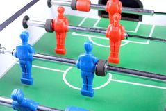 Close up of a foosball Royalty Free Stock Photo
