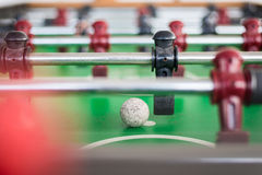 Close up of a foosball Stock Photos