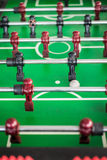 Close up of a foosball game Stock Photo