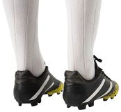 Close up of football boots Royalty Free Stock Photos