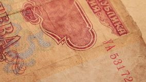 Foreign Currency Notes. Close up of Foreign Currency stock video