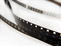 Close-up fragment of film strip Royalty Free Stock Image