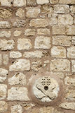 Franciscan Church Wall Royalty Free Stock Photo