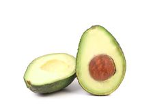 Close up of fresh avocado. Stock Images