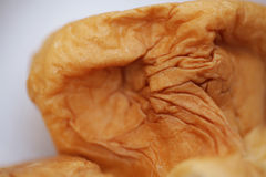 Close-up of fresh-baked bread. Texture Stock Images