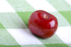 Close up of fresh cherry berries Royalty Free Stock Photography